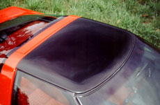 1984 - 1996 transparent roof panel